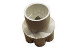 "Waterway | MANIFOLD | 6-PORT END-STYLE 1-1/2"" SLIP X 1/2"" SLIP 