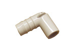 "Waterway | PVC FITTING | 90 ELBOW 1/2"" SPIGOT X 3/4"" RIBBED BARB 