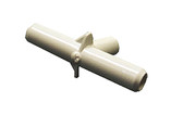 "Waterway | PVC FITTING | TEE 3/8"" X 3/8"" X 3/8"" SMOOTH BARB 