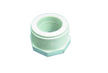 "Dura Plastics | PVC REDUCING BUSHING | 1-1/4"" MIPT X 1"" FIPT 