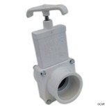 "Magic Plastics | SLIDE VALVE | 1-1/2"" SLIP X 1-1/2"" SLIP - WHITE 
