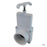 "Magic Plastics | SLIDE VALVE | 2"" SLIP X 2"" SLIP - WHITE 
