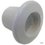 "Balboa Water Group | JET PART | EXTENDED WALL FITTING (LENGTH 2.5"") WHITE 