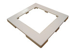 Waterway | SKIM FILTER PART |  FRONT ACCESS TRIM PLATE WHITE | 519-3090