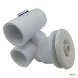 "Balboa Water Group | JET ASSEMBLY | SLIMLINE 1"" X 1"" WHITE 