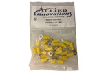 Electro Specialties | WIRE TERMINAL | RING - #12-10 - 10 STUD - YELLOW (25/BAG) | RV10Y