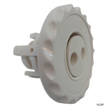 Waterway Plastics | Mini Jet Adj. Internal, Pulsator, Dlx Face, White |  224-1040