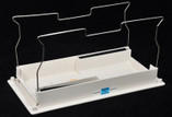 AQUA PRODUCTS | BOTTOM LID ASSY. (White, Square Wire Frame) - AB Ultra, Aquamax, Aquamax Biturbo, ULTRABOT | A9201XC