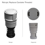 Caretaker 99 Threaded Pop Up Head Replacement 004-652-4949