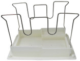 AQUA PRODUCTS | BOTTOM LID ASSY. (White, W-shaped Wire Frame) - AquaJet, POOL ROVER JR W/3288-152 | A9200XWB