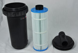 "JACUZZI | COMPLETE CARTRIDGE FILTER, CFR-25, 25 SQ FT, 25 GPM, 1-1/2"" SLIP 