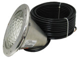 PENTAIR/AMERICAN PRODUCTS | 500 WATT, 120 VOLT, STAINLESS STEEL FACE RING, CLEAR LENS | 78456300
