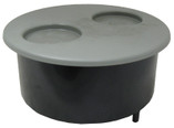 WATERWAY | filter niche with gray lid | 500-1027
