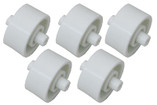 WATER TECH | VACUUM HEAD WHEELS (FOR GUNITE POOLS) SET OF 5 | PBW050