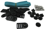 G. L. I. PRODUCTS | ABOVE GROUND STRAP KIT INCLUDES (9) PLASTIC SCREWS, (17) PLASTIC STRAP PLATES, (8) FABRIC STRAPS, (18) SCREWS,(1) DRIVER BIT | 4375006