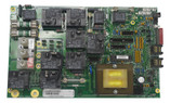 "HYDROQUIP | HS200 CIRCUIT BOARD  MEASURES 9"" 3/4"" X 6"" (2) 8 PIN PHONE PLUG SPA SIDE CONNECTORS CHIP #HS200R1E 