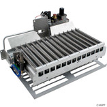Pentair | MINIMAX 75 AND 100 HEATERS | Burner tray assembly, complete, propane, millivolt | 471236