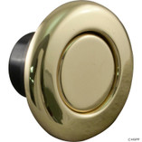 Tecmark Corporation | Air Button Bezel Kit, Tecmark, TDI 3428, Polished Brass | AA30136-2323