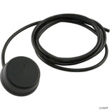 Herga Electric | Air Button,Herga, Mushroom,Thd,Black,w/6.5ft Tubing | 59-345-1500 | 6439-00 | 6439-AABZ | 6439
