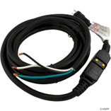 Hydro-Quip | Power Cord, 20A, 15ft, GFCI, for 115v Installs | 30-0062 | 30-0025