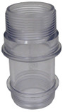 Pentair | Top Mount Clamp-On Multport Valves | Sight Glass 22 & 26 in. sand filter | 85019100