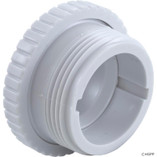 "Pentair | Inlet Fitting, Pentair, 1-1/2""mpt, 3/8"" Orifice, White 