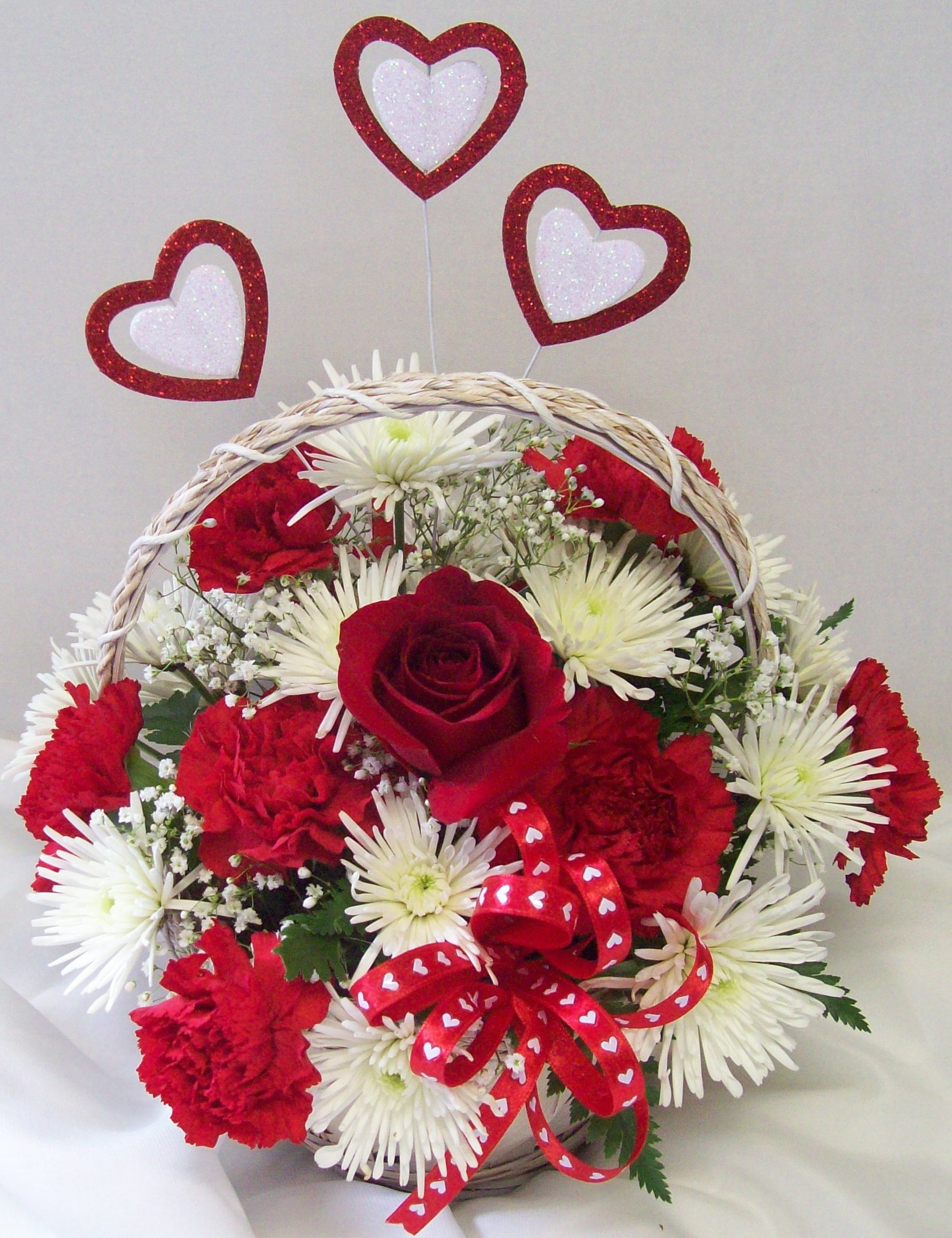 valentines day flowers florist arrangements, Beautiful flower