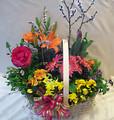 Large Blooming Basket