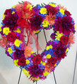 Stunning Sympathy Floral Heart