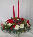 Double Candle Centerpiece