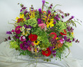 WIldflower Look Basket