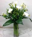 Elegant Cally Lily Vase