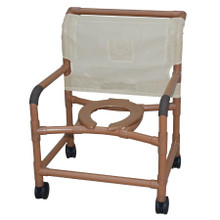 Bariatric Rolling Shower Chair StepWell Medical