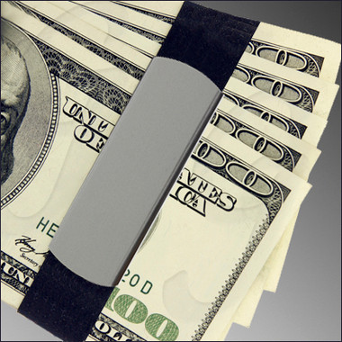 GB9100 Grey Green Aluminum holding cash