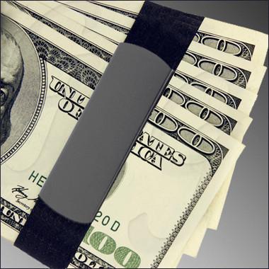 GB9100 Black Aluminum holding cash