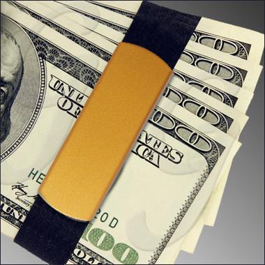 Jumbo GrandBand GB9100 Gold Color on money