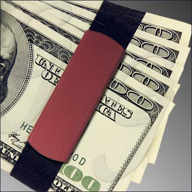 Jumbo GrandBand GB9100 Red on money