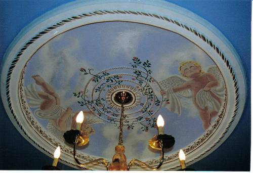 Castle Design Ceiling Dome