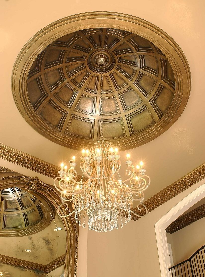 ceiling domes for every style - castle design