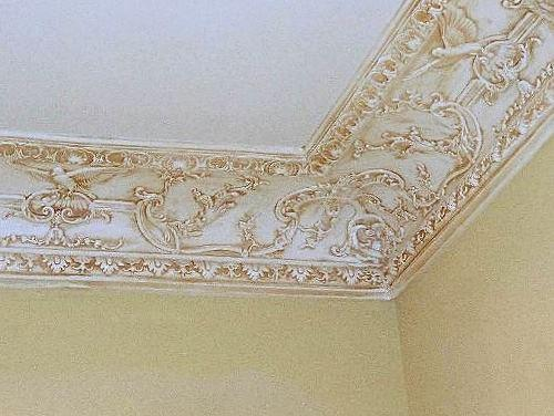 cove molding dm720 decoratively ornate crown molding - Decorative Molding