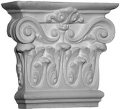 Corinthian Capital, with acanthus leaves, and large top volutes