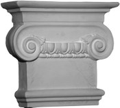 Corinthian Capital, with egg and dart molding design & large top volutes