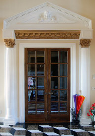 Plaster Volutes and Capitals - contact us about outdoor use