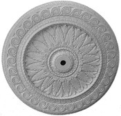 "Large Image of this 48"" Acanthus Leaf Ceiling Medallion"