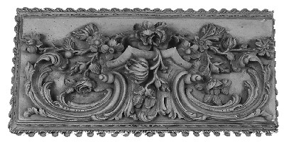 Plaster Accessories A154 - scrolling acanthus leaves and flowers