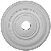 "Liberty Classic Ceiling Medallion.  20 1/2"" Diameter x 1 1/4"" projection.  Simple elegant design."