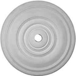 "Liberty Classic Ceiling Medallion.  33"" Diameter x 1 1/4"" projection.  Simple elegant design."