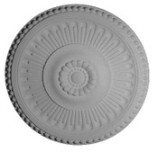 "Beaded Sunburst Centerpiece Medallion - 18 1/2"" x 1 3/8"""
