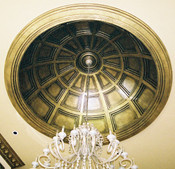 Coffered Dome D10-Coffer