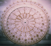 Ornate Cast Plaster Dome D10 10' Diameter